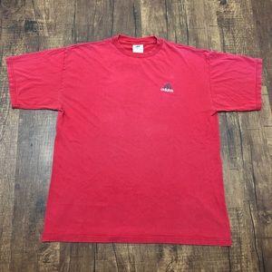 Vintage Adidas Embroidered Logo T-shirt